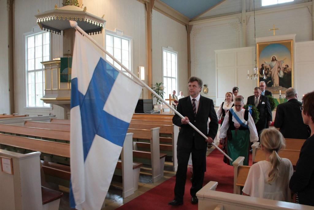 Lippu kirkosta